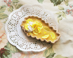 Lemon Coffin Tart
