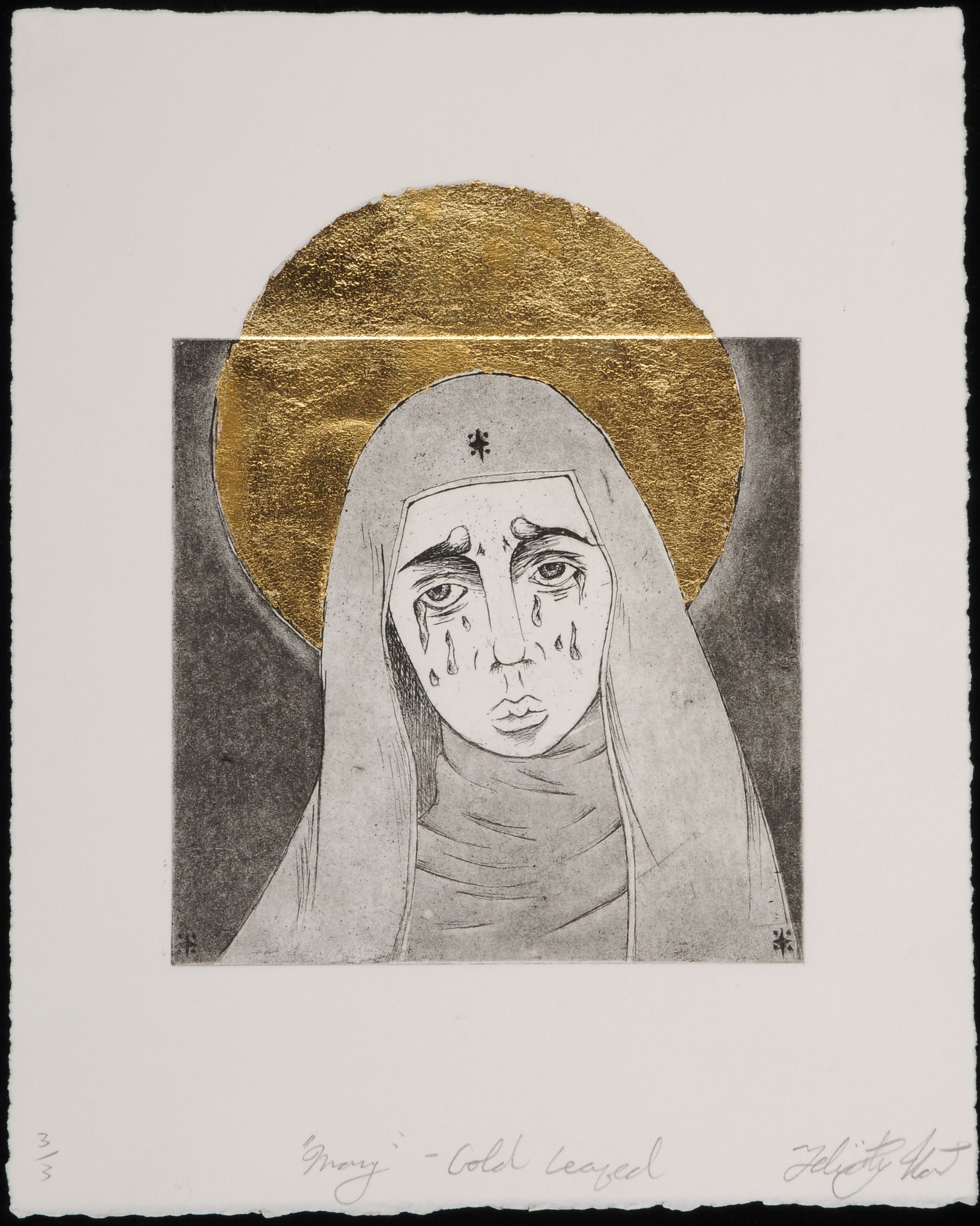 Mary (Gold Leafed)