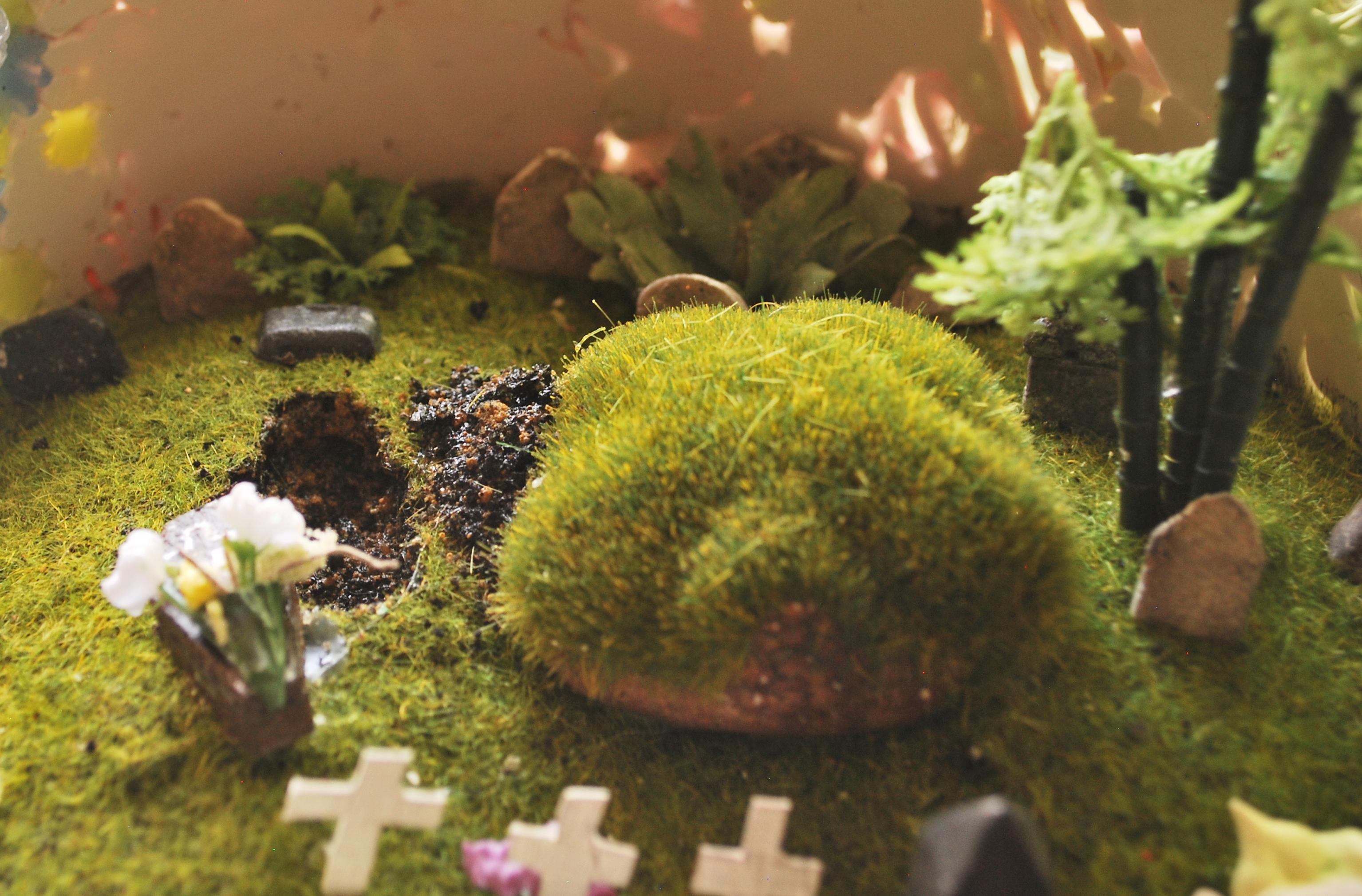 Cake Graveyard (Inside) - Detail