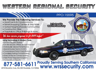 WESTERN REGIONAL SECURITY