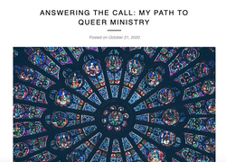 ANSWERING THE CALL: MY PATH TO QUEER MINISTRY