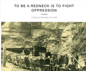 TO BE A REDNECK IS TO FIGHT OPPRESSION