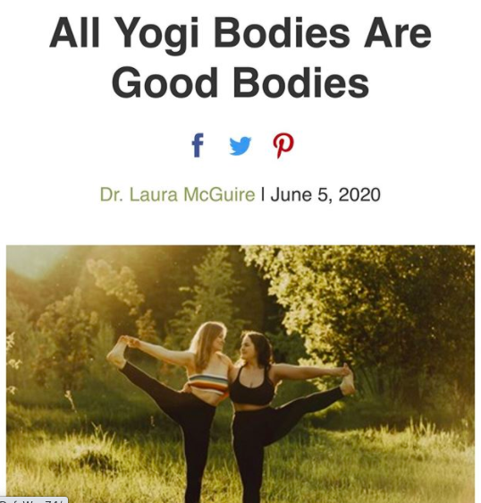 All Yogi Bodies Are Good Bodies