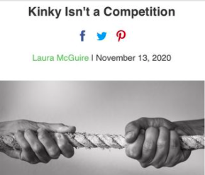 Kinky Isn't a Competition