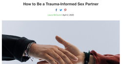 How to Be a Trauma-Informed Sex Partner