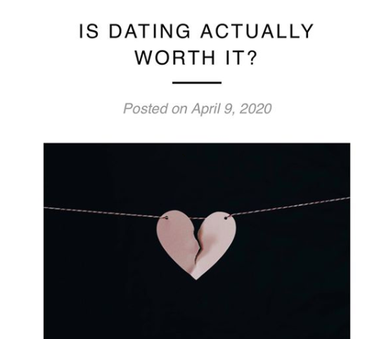 Is Dating Actually Worth It?