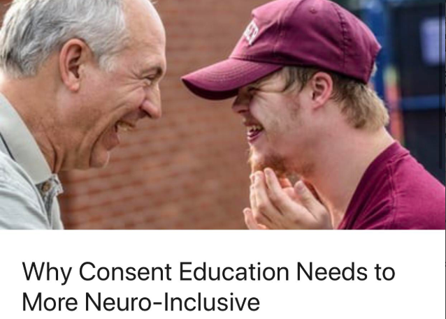 Why Consent Education Needs to More Neuro-Inclusive