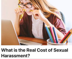 What is the Real Cost of Sexual Harassment?