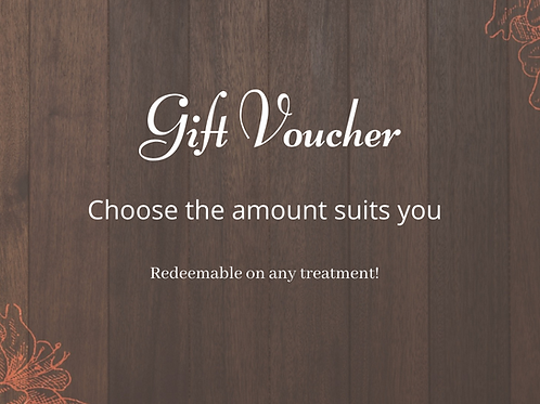 Gift Voucher - pick your value