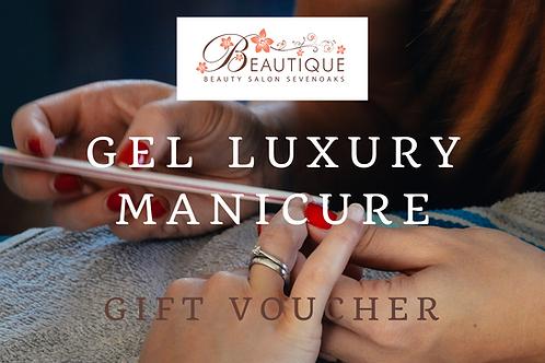 Gel Luxury Manicure Gift Voucher