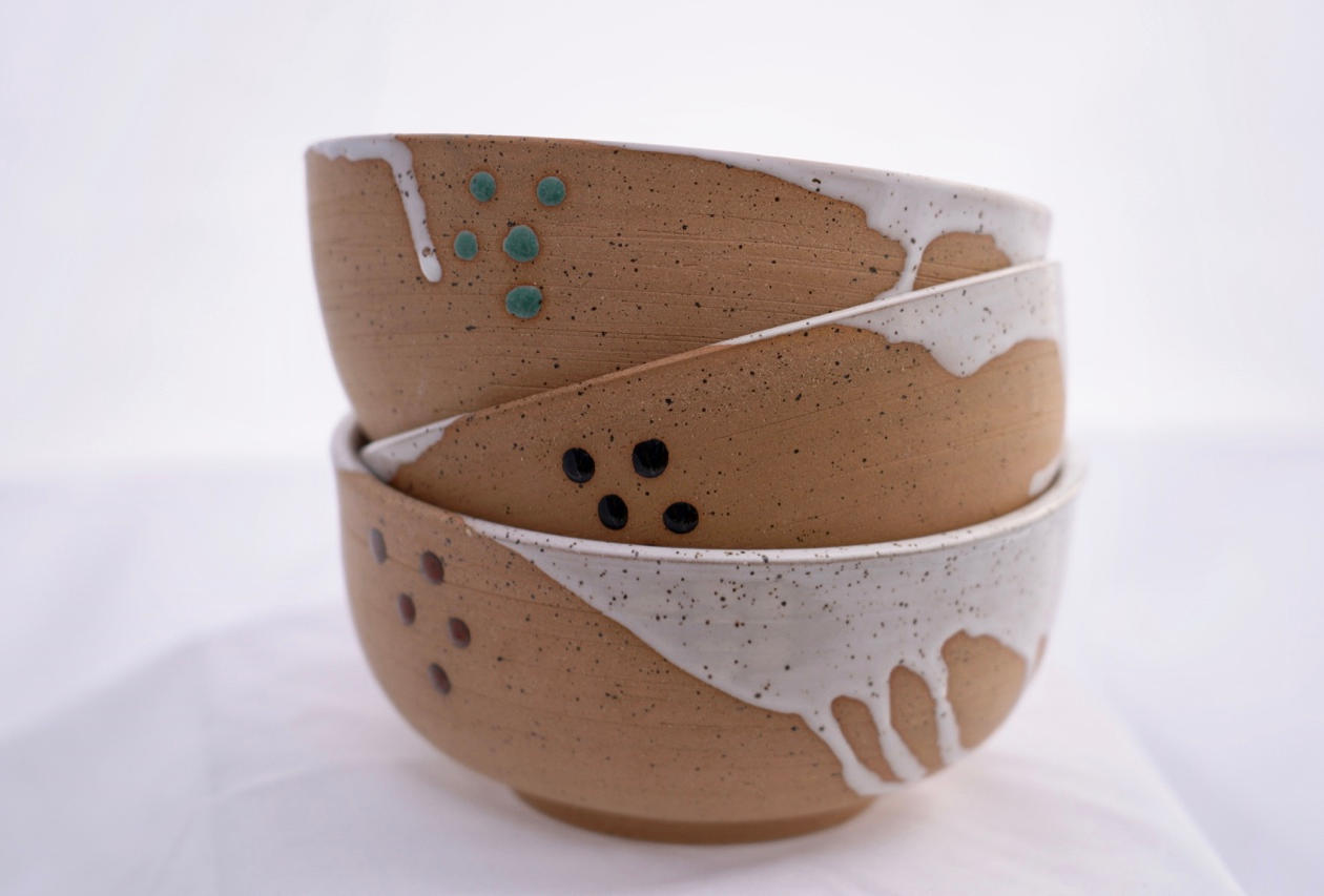 Splash-dot Bowls