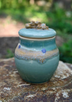 Purple Dot Jar