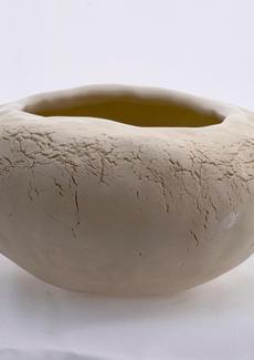 White Pinch Pot