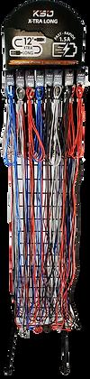 Présentoir câbles 12 pieds
