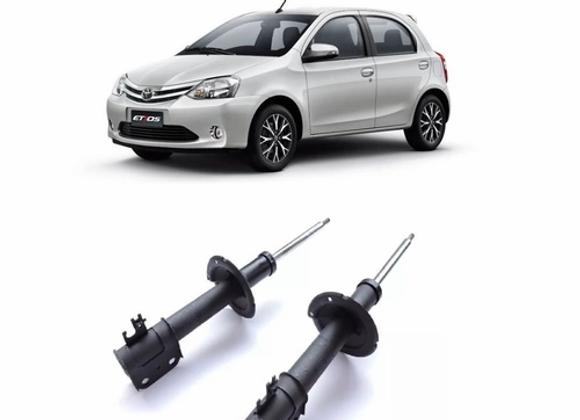 Amortecedor Toyota Etios Dianteiro (2013 Até 2015) O Par