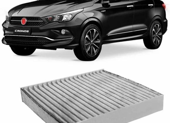 Filtro Cabine Ar Condicionado Fiat Cronos 2018 A 2019 Carvão