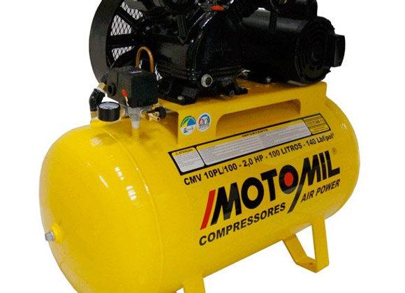 Compressor Air Power Monofásico 10 Pés 2,0HP 110/220V - MOTOMIL-CMV10PL/100