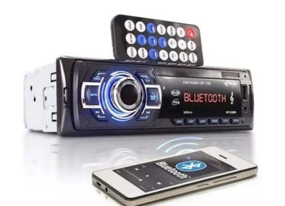 Som Automotivo MP3 Player KP-C22BH Knup Bluetooth,USB,Entrada Auxiliar,SD