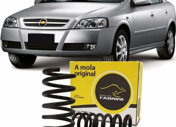 Kit Par Mola Suspensao Traseira Gnv Gas - Astra 1999 A 2011 - Kit00920
