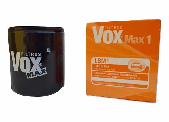 Filtro de Óleo Universal VOX Max 1 LBM1 - Fiat Ford VW