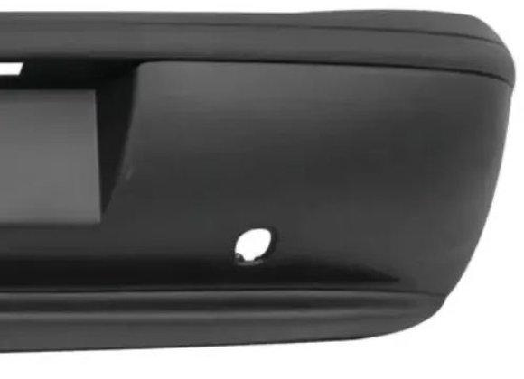 Para-Choque Traseiro Fiat Palio 1996/2000 - Preto Texturizado
