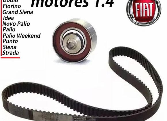 Kit Correia Dentada Fiat PALIO 1.4 8v Flex 2009 Á 2016