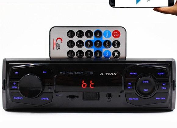 Radio Fm P/ Carro Bluetooth Mp3 Automotivo Usb Player