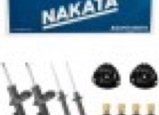 4 Amortecedor Gol G5 G6 2008 a 2017 Dianteiro Traseiro Nakata e Kit