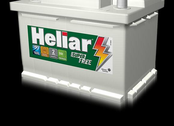 Bateria Heliar 60ah 2 Anos De Garantia
