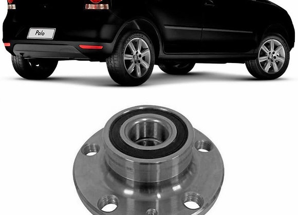 Cubo Roda Volkswagen Polo 1.0 1.6 2.0 2002 a 2019 Traseiro Com Rolamento