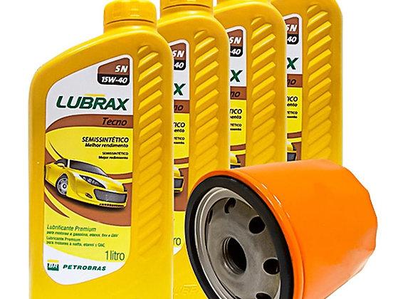 Kit Óleo Universal Lubrax Sn Tecno 15w40 Semi Sintético