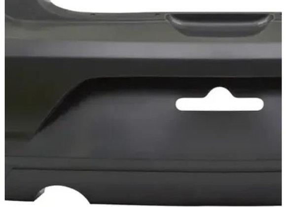 Para-Choque Traseiro VW Gol G6 2013/2016 - Preto Liso