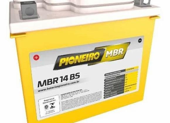 Bateria Moto Pioneiro Mbr14-bs 13ah 12v R 1200 Gs Vt 750 Comet 650 Mirage 650 Ni