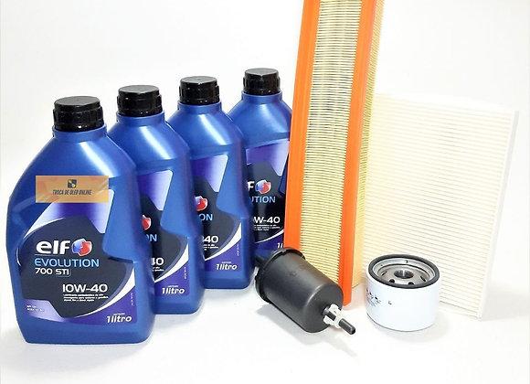 Kit Revisão Troca De Óleo Renault Logan até 2013 Sandero até 2014 1.0 16v Flex -