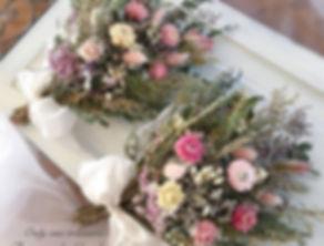 .お花いっぱいスワッグ ._色鮮やかなお花たちを優しくを束ね_可愛いお花畑の様に