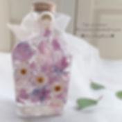 ._herbarium♡ _ラベンダー系のお色のハーバリウム♡_卒寿のお祝いに素
