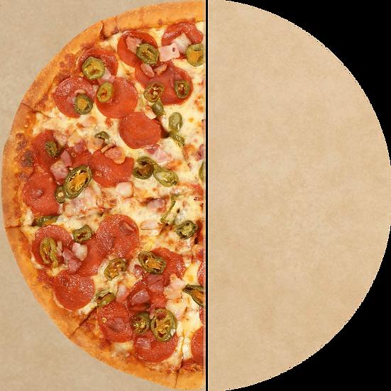 Pergano Pizzapapier braun