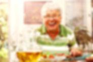 Warmhaltebox Menü für Senioren
