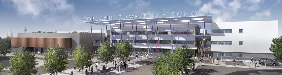 Copland Community School  HA9  I  Stockwool Architects