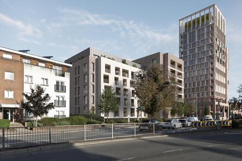 Mosaic Place CR8  I  Thornsett  I  Proctor & Matthews Architects