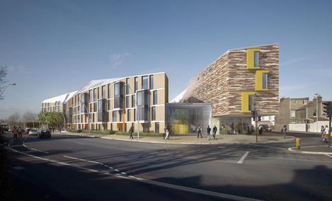 Ruckholt Road E10  I  Gilmartin Ley  I Stockwool Architects