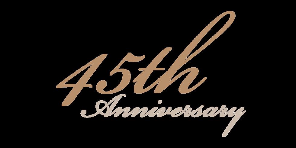 PGCC 45th Anniversary Celebration