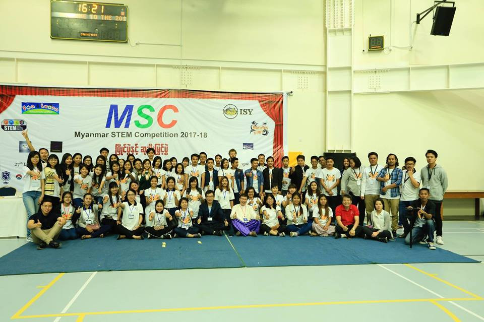 Picture of Myanmar STEM Competition