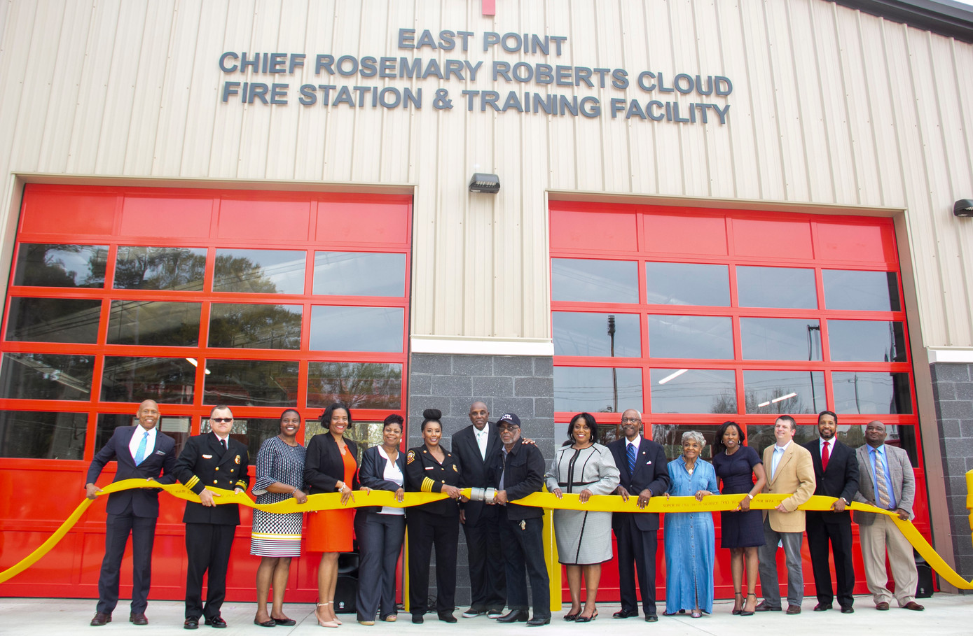 Rosemary Roberts Cloud Fire Station & Training Facility
