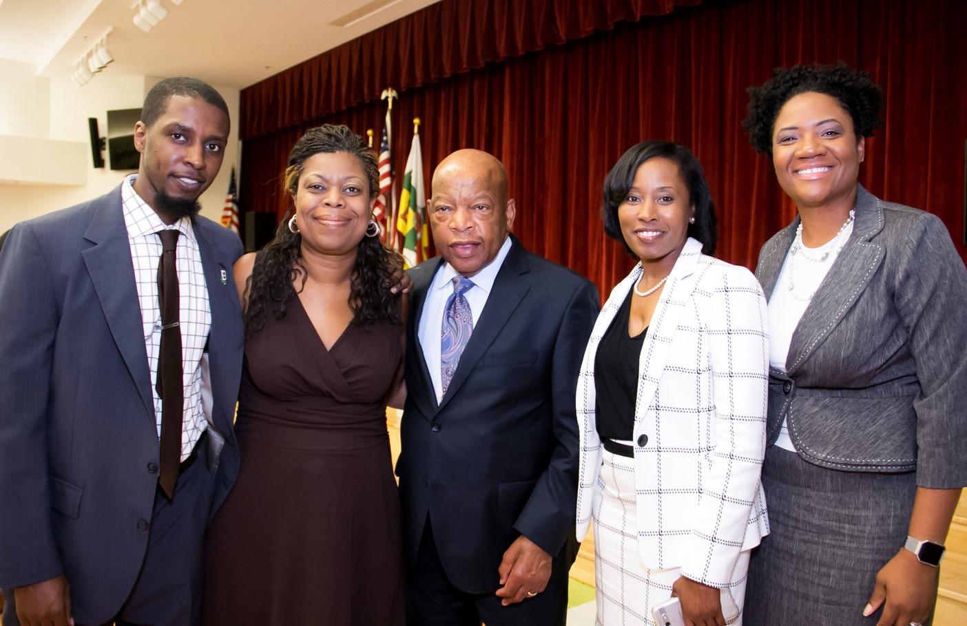 Congressman John Lewis & East Point City Council Members