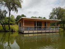 lodge sur l'eau haute Saône