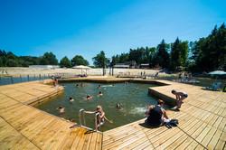 piscine sur l'eau Aurillac