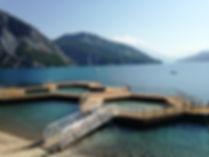 piscine flottante