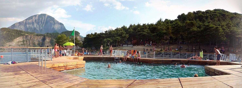 piscine flottante Serre Ponçon     2