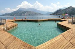 bassin flottant Serre Ponçon